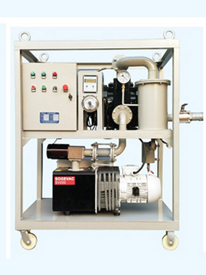 Transformer Oil Evacuation Vacuum Pump System